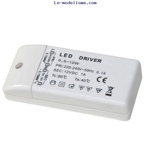 led driver transformer power supply 220 240v to dc 12v for. Black Bedroom Furniture Sets. Home Design Ideas